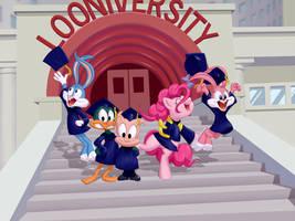 Wallpaper: Pinkie's Graduation by dstears