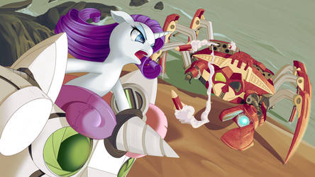 Rarity v. Crab: Escalation by dstears