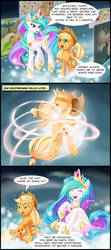 Ascension of Applejack by dstears