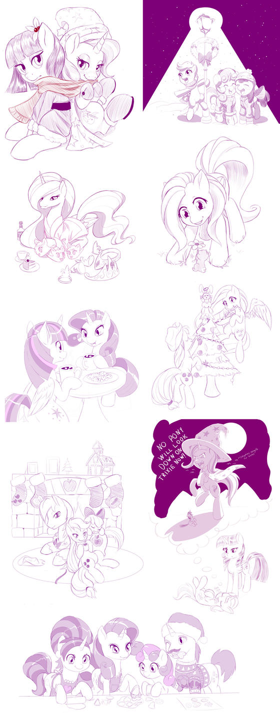 Artist training ground sketch dump by dstears