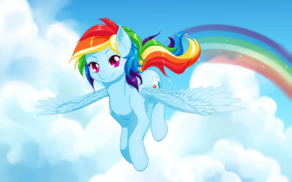Rainbow Dash by dstears