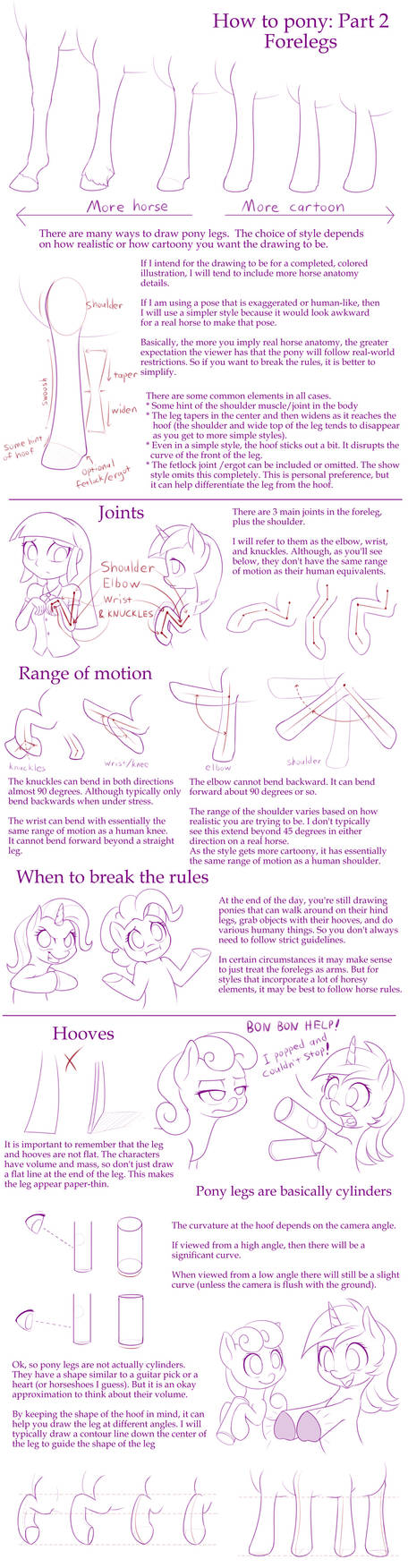 How to Pony: Part 2 - Forelegs