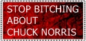 Stop Bitching Chuck Norris by streetkay07