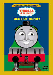 Best Of Henry Custom DVD Cover by NicholasTheBlueGWR
