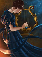 The Girl and the Lyre by LAS-T