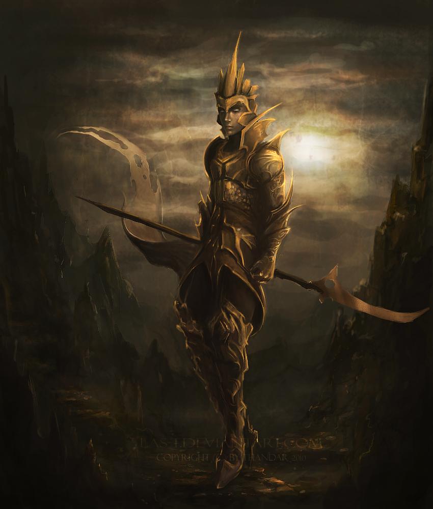 Warrior concept by LAS-T on DeviantArt  Warrior concept...