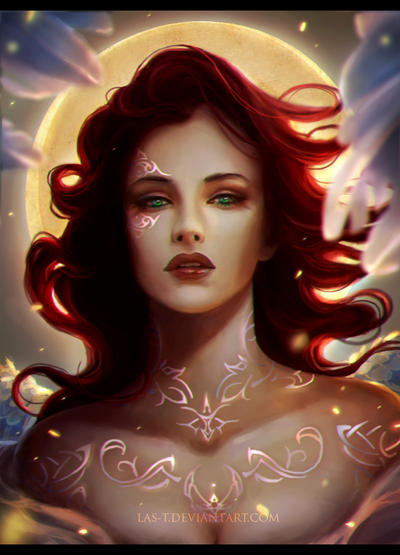 redhead goddess