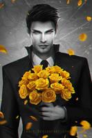 Leeroy - Flowers Never Lie - Cover Art by LAS-T