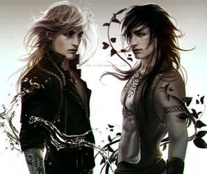 Elyas and Bran by LAS-T