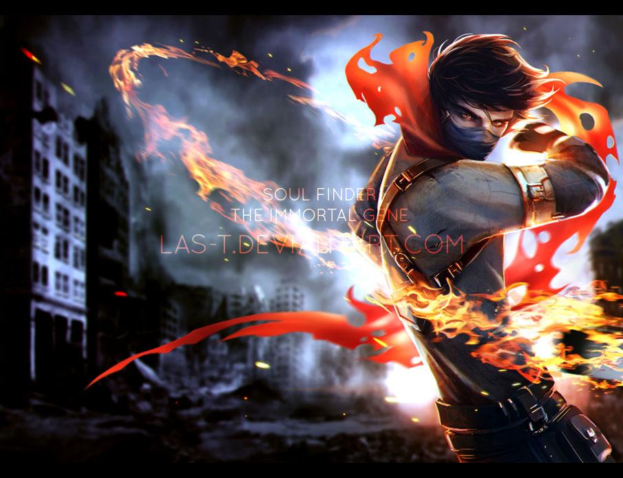 Soul Finder - Cover Illustration by LAS-T