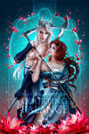 Cover Illustration - Courting Balance by LAS-T