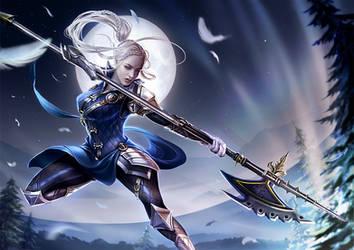 Eva Zelorius - Battle by LAS-T