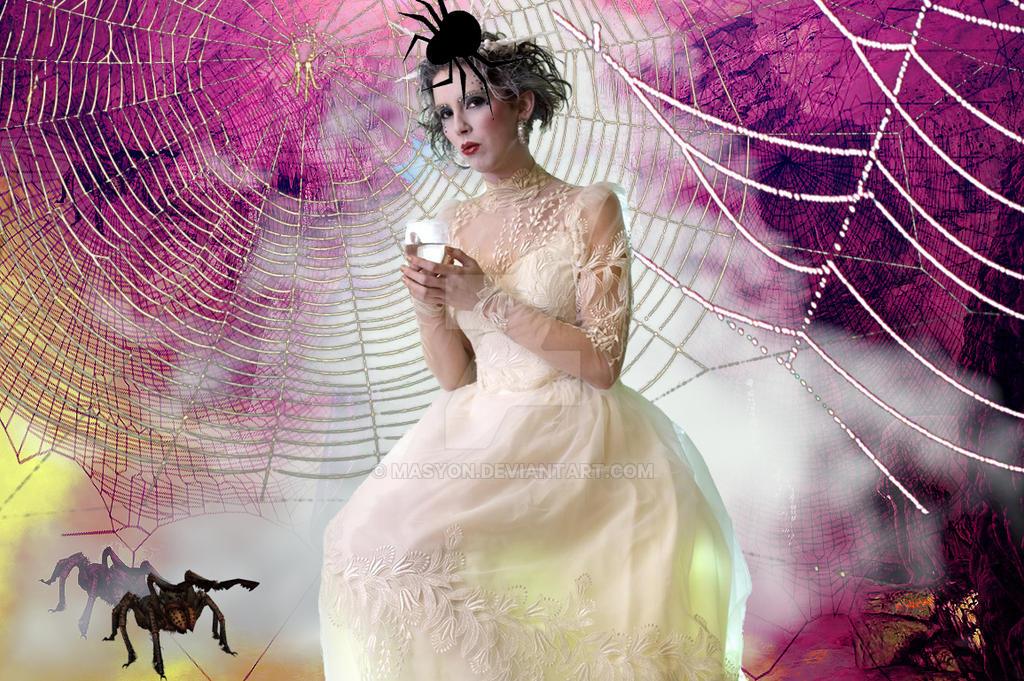 Spiderlady by MASYON