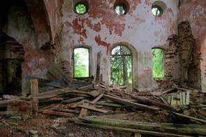 Church ruins 55 by MASYON