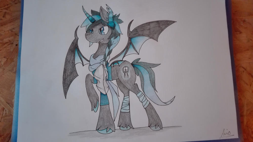 Blue Moon - redesign by ArioGrimmRe