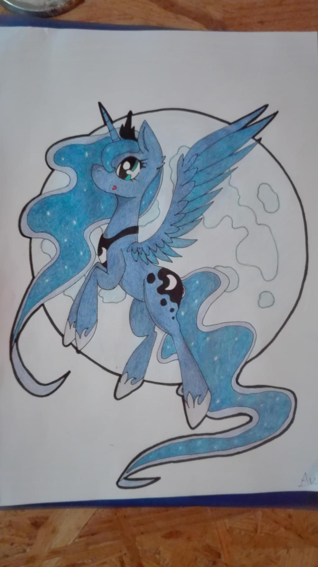 Princess Luna - Request by ArioGrimmRe