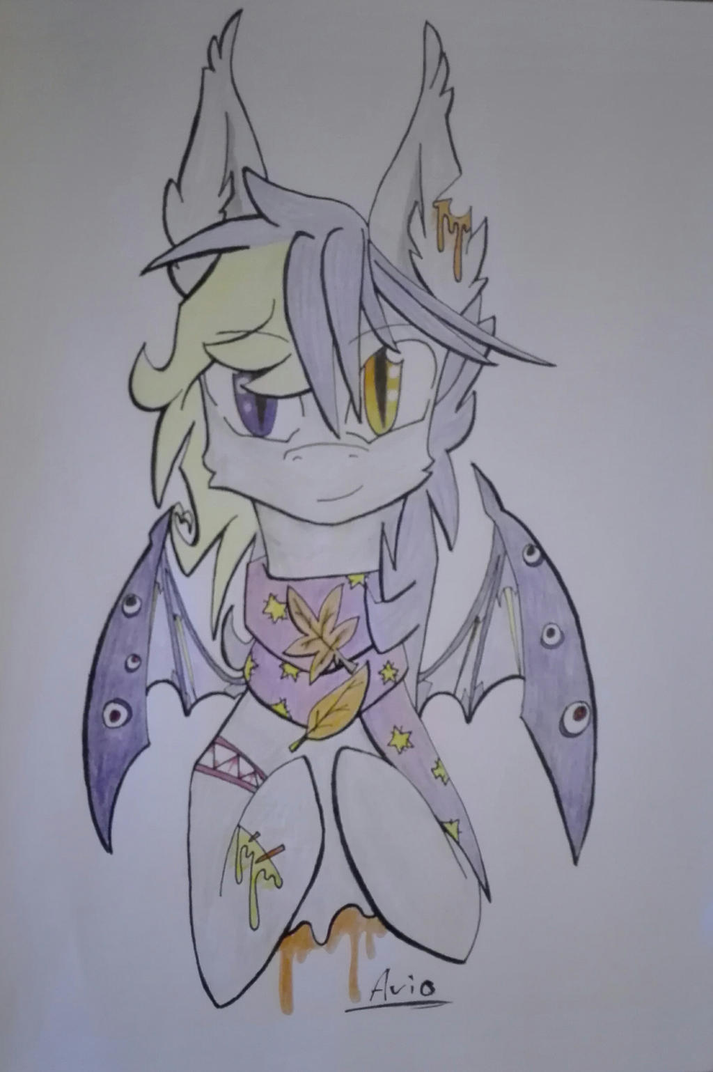 Goretober day 1: Autumn vibes by ArioGrimmRe