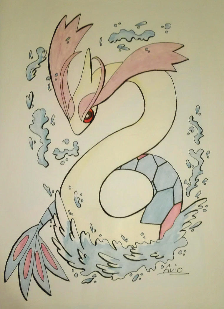 Pokecember day 2: Water type by ArioGrimmRe