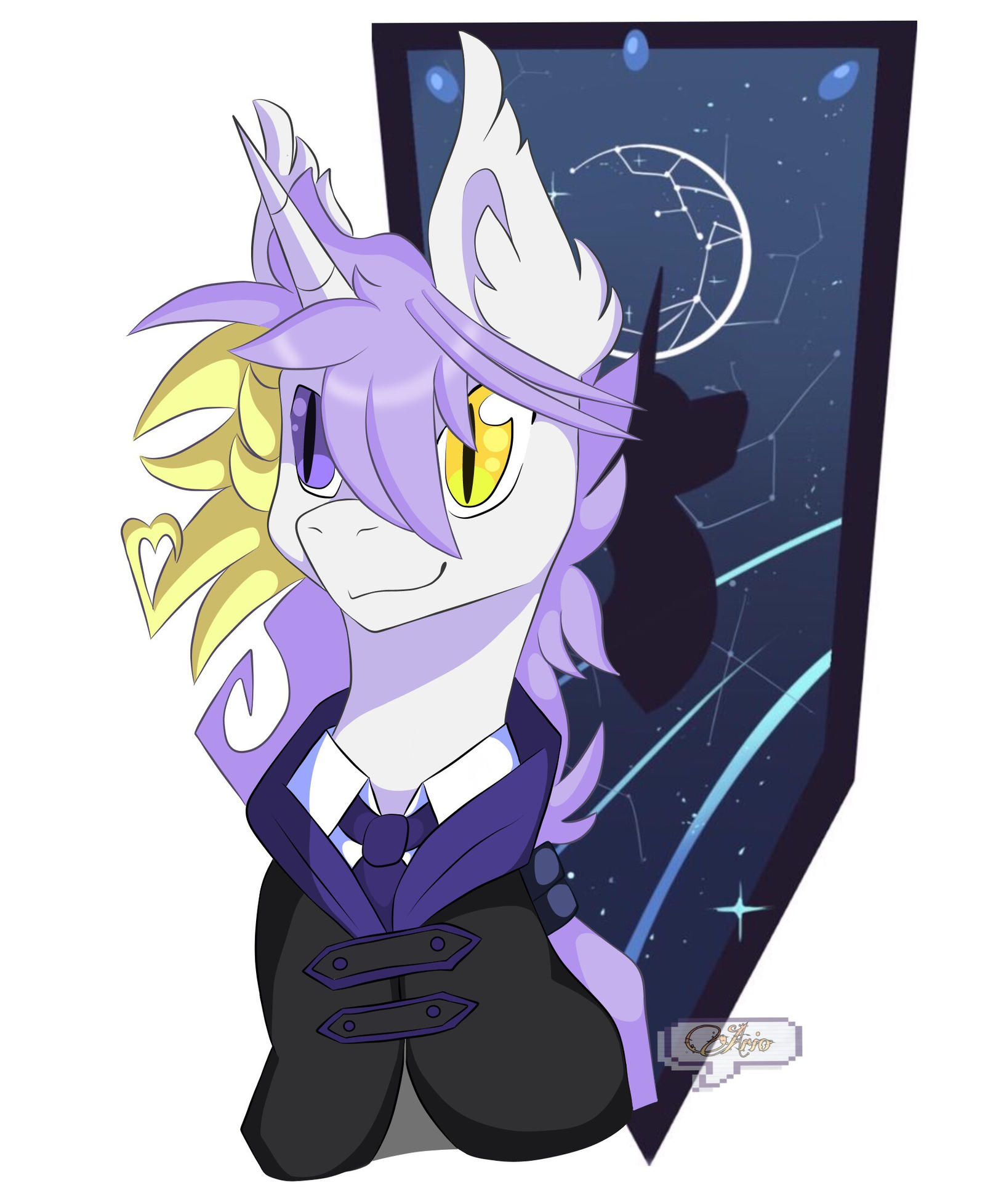 Ready for class by ArioGrimmRe