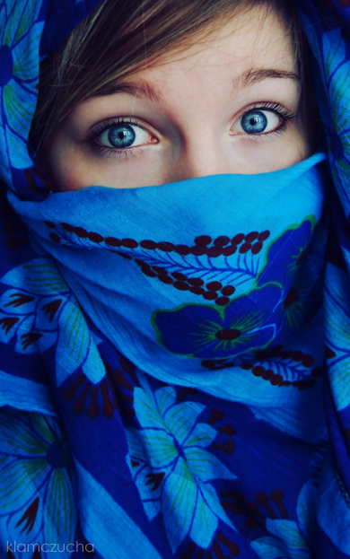 afghan girl by klamczucha
