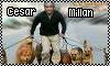 Cesar Millan Stamp by geans123