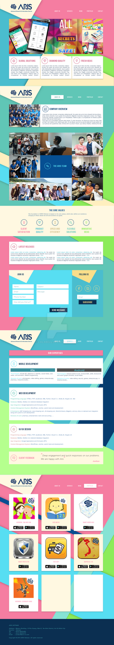 Website2015 by lalabell