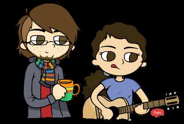 MM et Paul - Genderbend by Chpiku