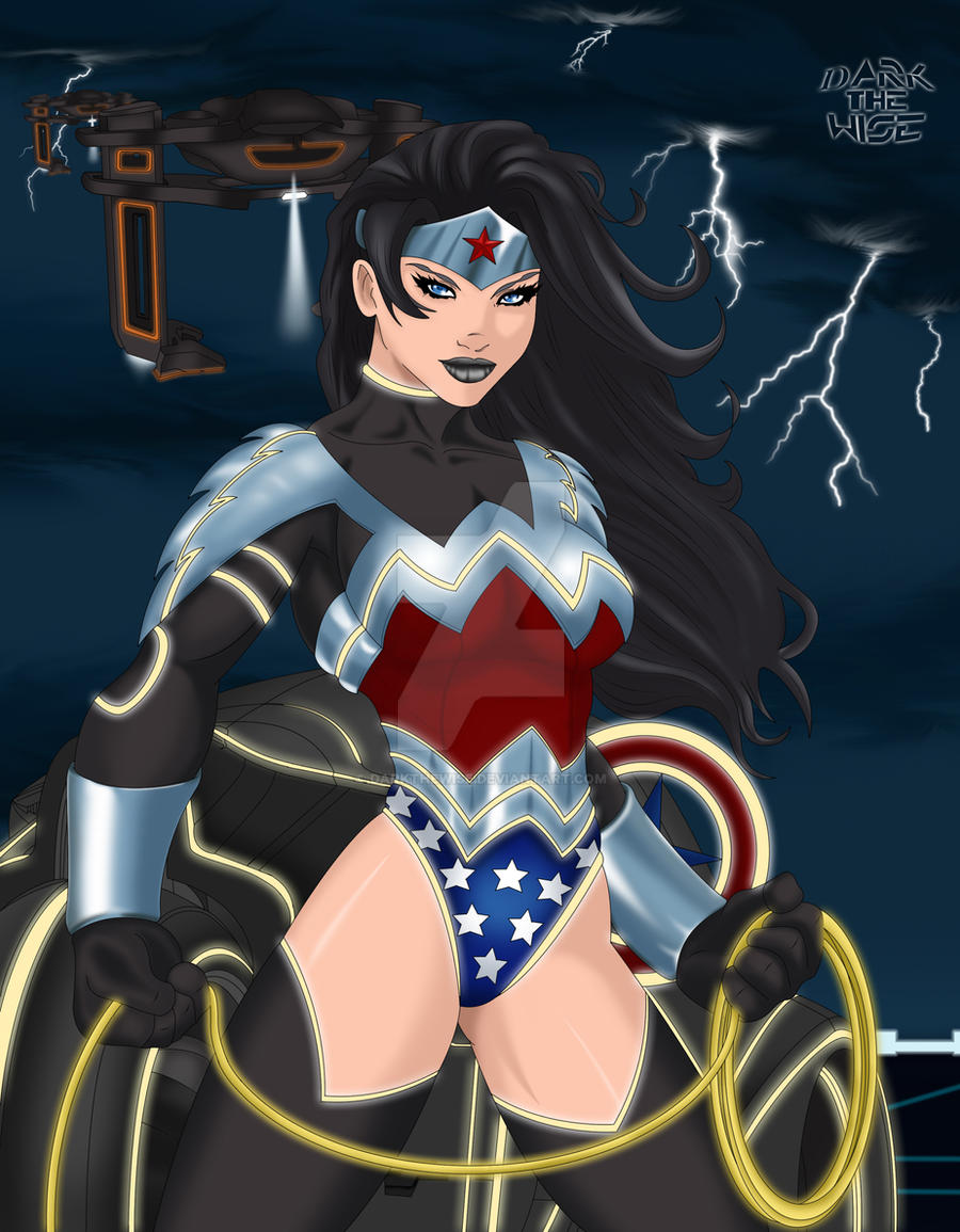 Tron: Wonder Woman by darkthewise