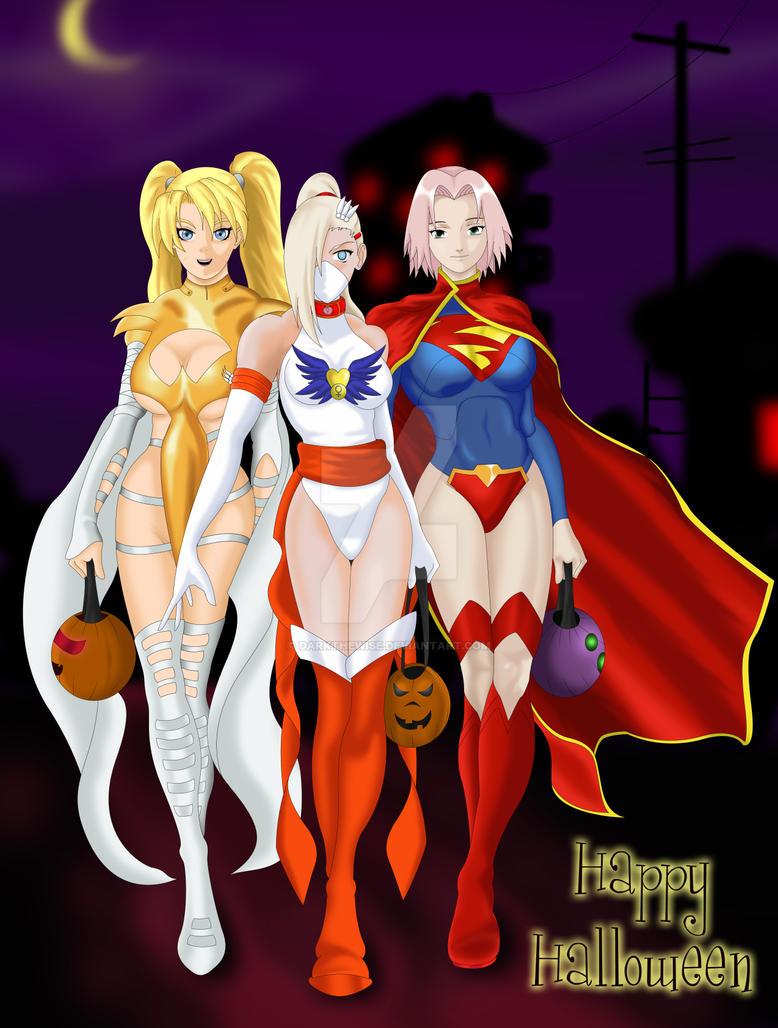 Happy Halloween 2012 by darkthewise