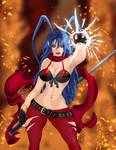 The legendary Princess of the Netherworld