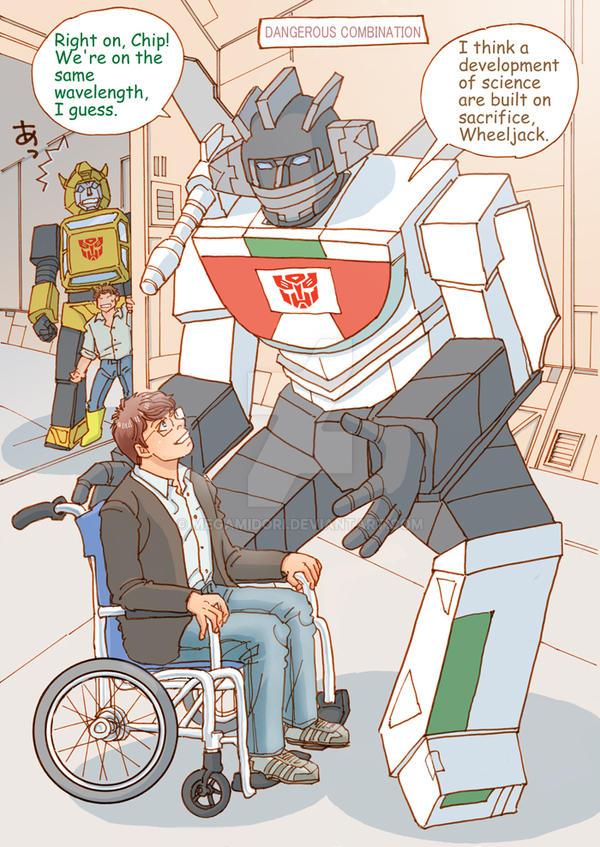 The Autobots' Medical Problem 3/3 by megamidori