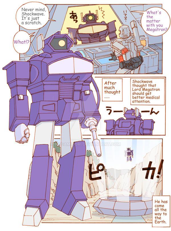 TF: The Decepticons' Medical Problem 2/4 by megamidori