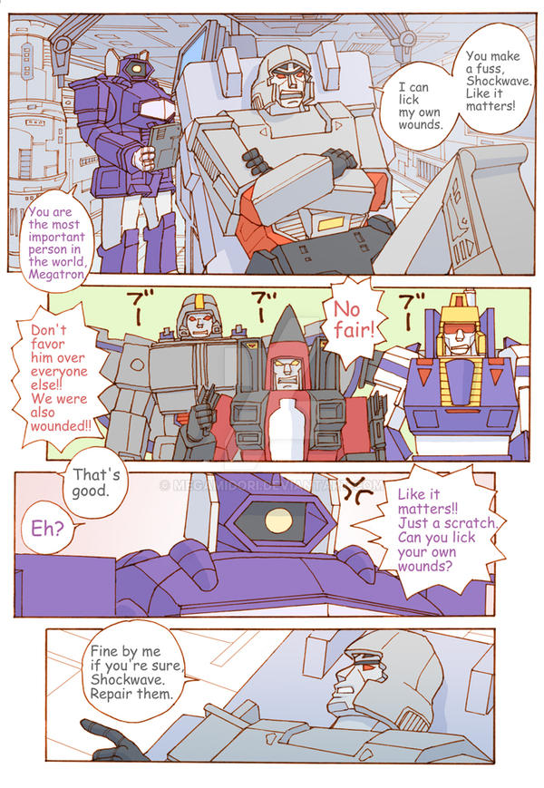 TF: The Decepticons' Medical Problem 3/4 by megamidori