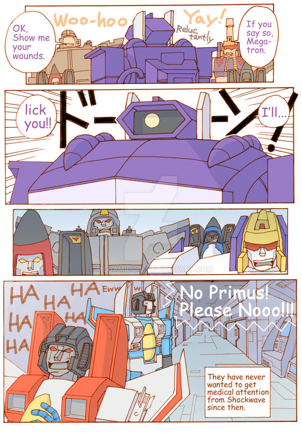 TF: The Decepticons' Medical Problem 4/4 by megamidori