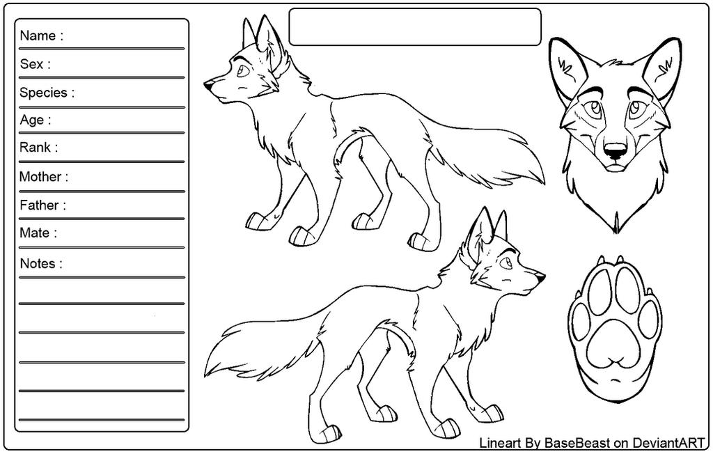 Wolf Reference Sheet Talatsimapco