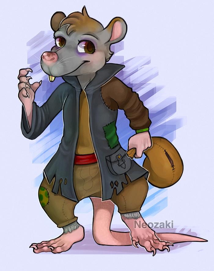 Ratticus Ratfeld by Neozaki