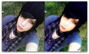 Before And After Andy Sixx