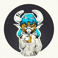 Inktober 2017 - Day 23 - Juicy