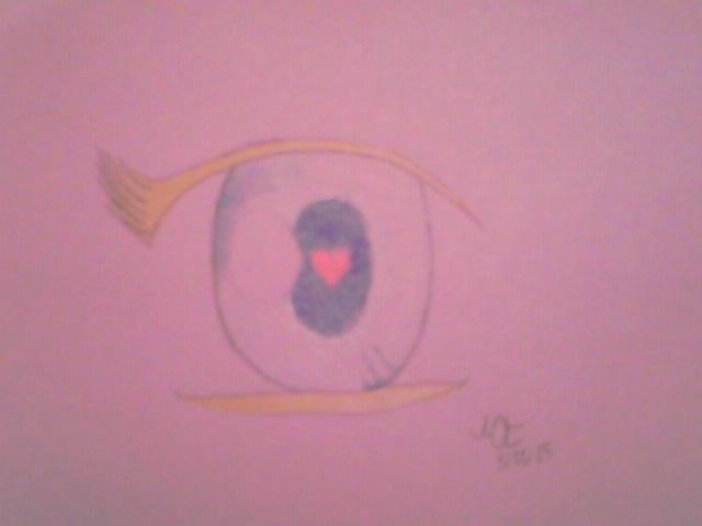 Anime Eyeball by MagarahTezerra