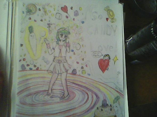 VOCALOID GUMI Candy love by MagarahTezerra