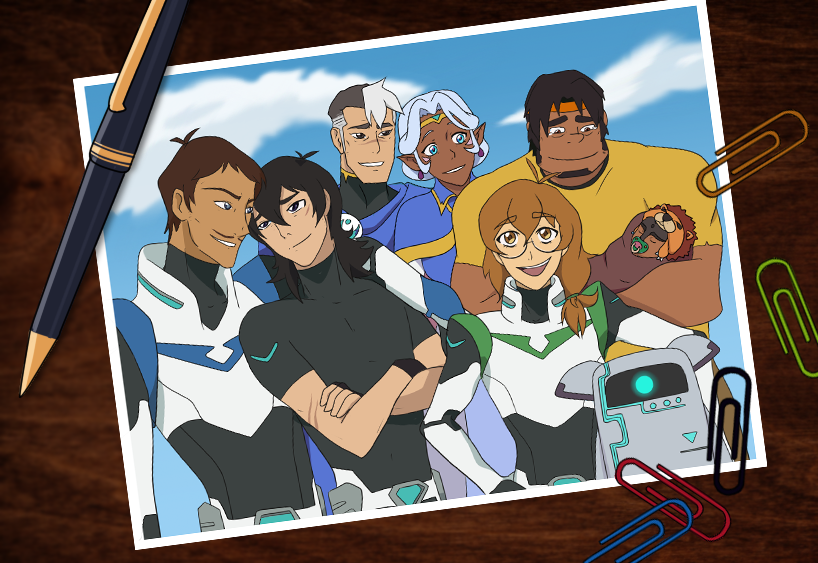 Voltron Force Characters Names Team Voltron by Kuroni...