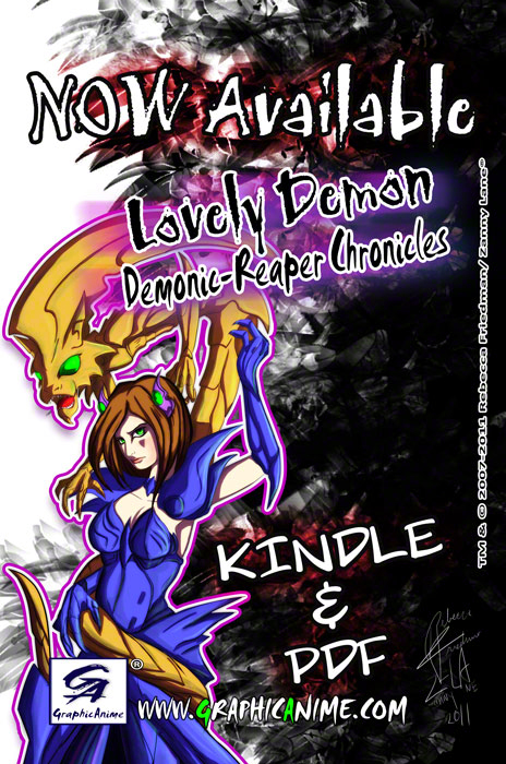 Lovely Demon :Demonic- Reaper Chronicles 2 by GraphicAnime