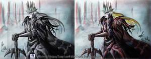 Demon Kogure: SeikimaII:: BW and Color