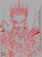 Demon Kogure - After Battle by GraphicAnime