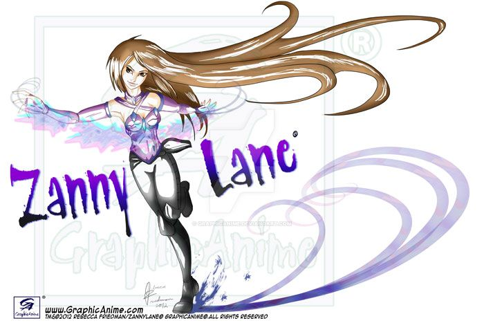 Zanny Lane - Version 1 by GraphicAnime