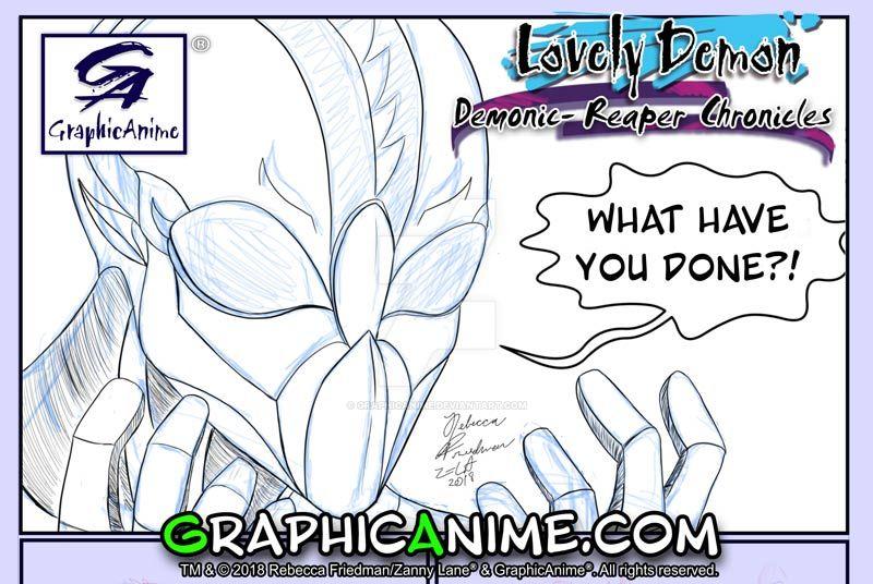 Lovely Demon Demonic-Reaper Chronicles #2 Panel by GraphicAnime