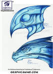 Creature Design Concepts : Copic Colors Challenge by GraphicAnime
