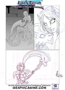 WIP Lovely Demon: Demonic-Reaper Chronicles #2 Pg8