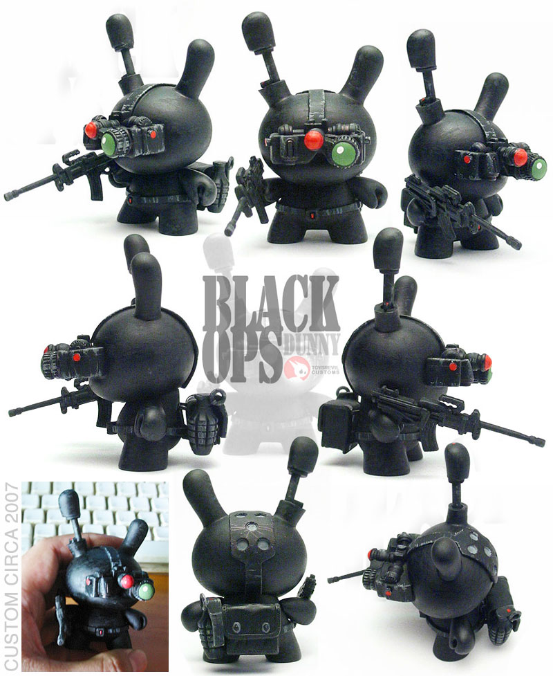 Black Ops Dunny by toysrevil