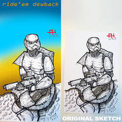 Ride'em Dewback by toysrevil